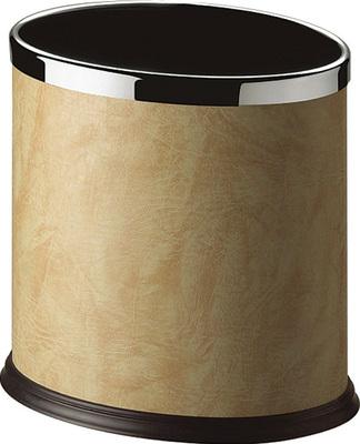 GPX-43B橢圓單層包人造皮垃圾桶